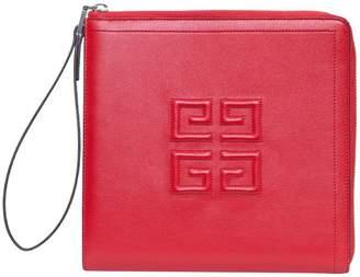 Givenchy Emblem Leather Wallet