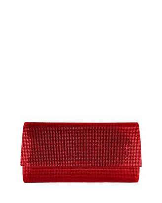 Judith Leiber Couture Manhattan Crystal Clutch Bag, Silver Cherry $1,995 thestylecure.com