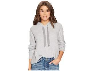 1 STATE 1.STATE Hooded Crop Sweatshirt Women's Sweatshirt