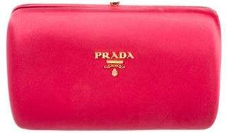 Prada Raso Box Clutch