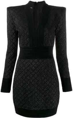 Balmain woven mini dress