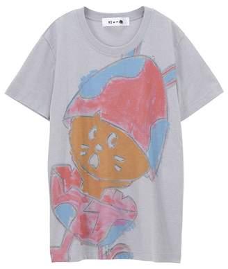 にゃー / (O) たまごうさぎにゃーT / Tシャツ
