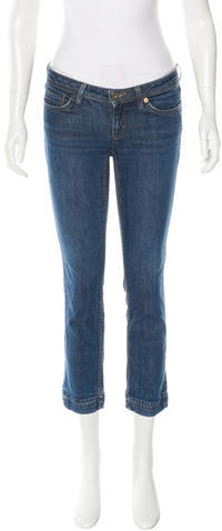 Dolce & Gabbana D&G Low-Rise Straight-Leg Jeans