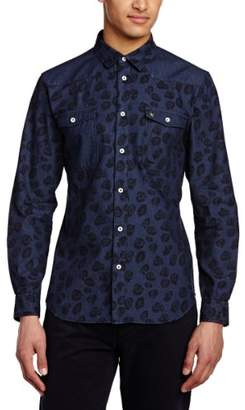 Voi Jeans Men's Reveal Short Sleeve Casual Shirt