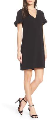 Charles Henry Tie Back Shift Dress