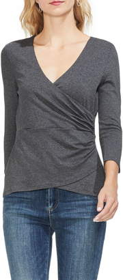 Vince Camuto Wrap Front Top