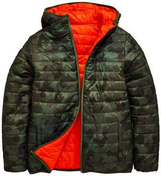 Very Slim Fit Reversible Padded Jacket