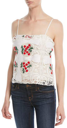 Brock Collection Talia Antique Lace Top