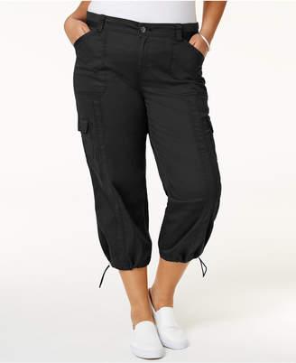Style&Co. Style & Co Plus Size Capri Cargo Pants
