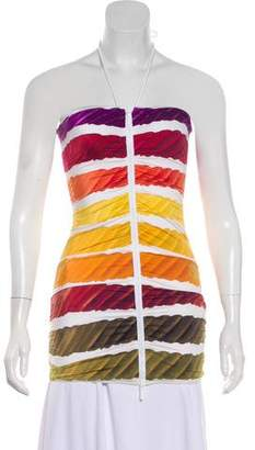Chanel Colorama Halter Top