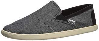 Toms Men's Pico Shoe, Drizzle Grey Twill Chambray W/Synthetic Trim, 7 Medium US