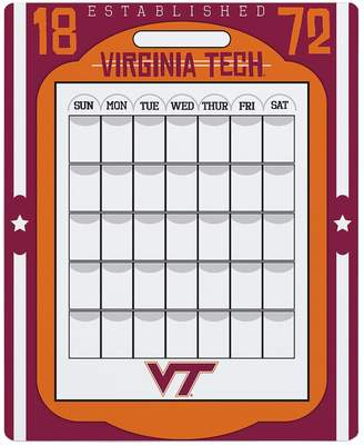 Kohl's Virginia Tech Hokies Dry Erase Calendar