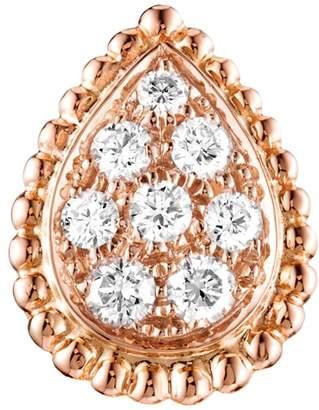Boucheron Rose Gold and Diamond Serpent Bohème Earrings