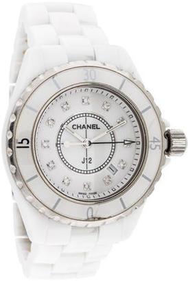 Chanel J12 Watch $1,795 thestylecure.com