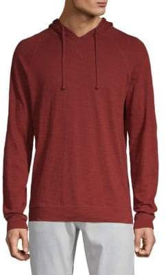 Vince Cotton Pullover Hoodie