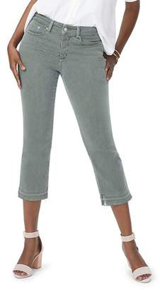 NYDJ Released Hem Skinny Capri Jeans in Topiary