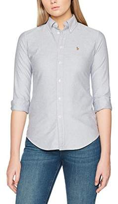 Polo Ralph Lauren Women's BD Kendal-Custom-Long Sleeve-Shirt Blouse