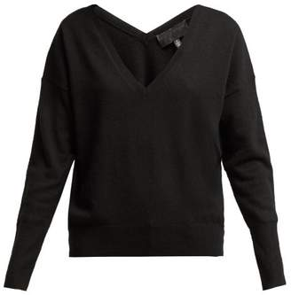 Nili Lotan Cashmere V Neck Sweater - Womens - Black