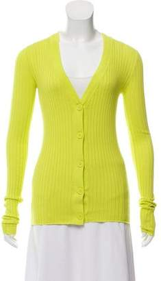 Organic by John Patrick Ribbed Knit Cardigan