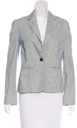 A.L.C. Striped Notch-Lapel Blazer