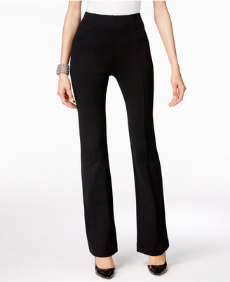 INC International Concepts High-Waist Curvy-Fit Bootcut Pants, Only at Macy's $69.50 thestylecure.com