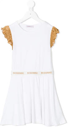Missoni Kids sleeveless ruffle dress