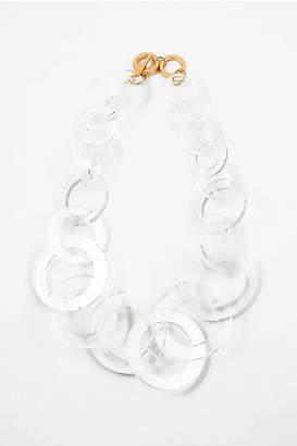 Embellish Lucite Large-Links Necklace