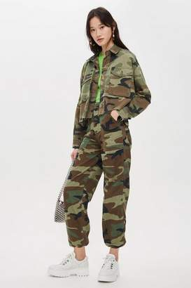 Topshop Authentic Camouflage Trousers