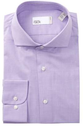 Nordstrom Rack Tonal Check Trim Fit Dress Shirt