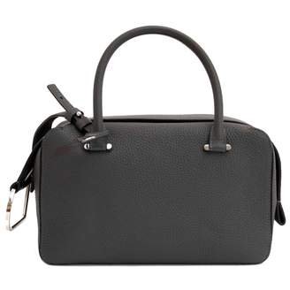 Delvaux Cool Box Grey Leather Handbags