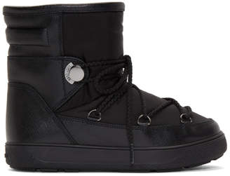 Moncler Black Stephanie Moon Boots