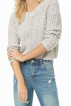 Forever 21 Semi-Sheer Knit Sweater
