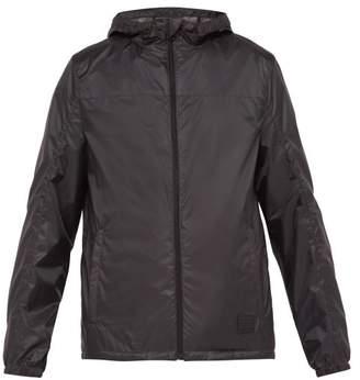 Prada Packable Ripstop Hooded Jacket - Mens - Black