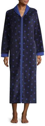 Spencer Long Sleeve Fleece Robe