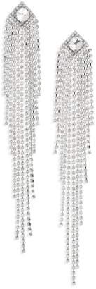 Natasha Accessories Drama Crystal Shoulder Duster Earrings