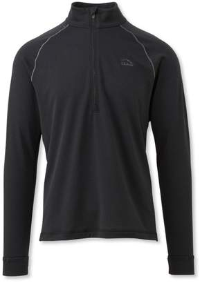 L.L. Bean L.L.Bean Polartec Power Dry Stretch Base Layer, Expedition-Weight, Quarter-Zip