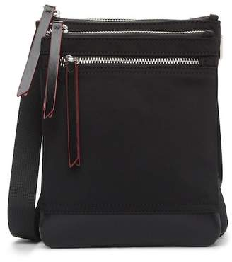 Lodis Kate Leather Trimmed Nylon RFID Zora Crossbody Bag