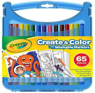 Crayola 'Create And Colour' Supertip Washable Markers Set