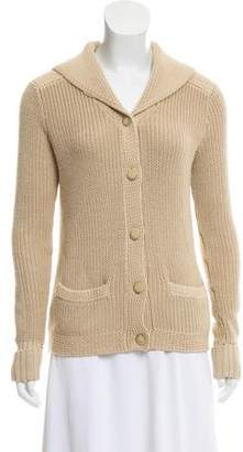 Ralph Lauren Black Label Hooded Knit Cardigan