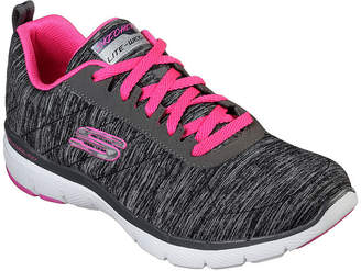 Skechers Flex Appeal 2.0 Womens Lace-up Sneakers
