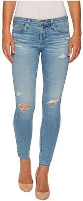 AG Adriano Goldschmied Leggings Ankle in 20 Years Oceana Destructed Women's Jeans