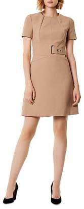 Karen Millen Belt Detail A-Line Dress