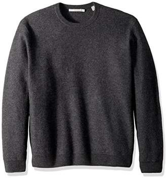 Vince Men's Simmered Cashmere Oversized Crew Neck Sweater