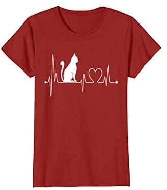 Cat Heartbeat T-Shirt