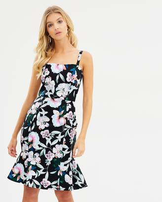Cooper St Whimsical Blooms Strapless Midi Dress