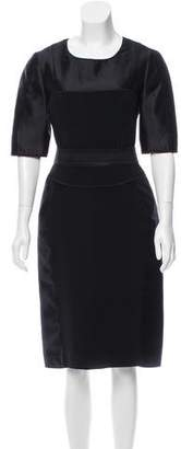 Narciso Rodriguez Silk Sheath Dress