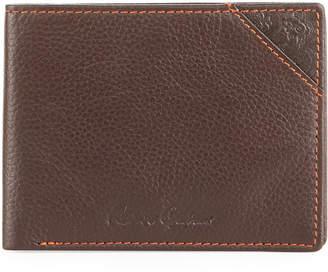 Robert Graham Pledge Slim Fold Leather Wallet
