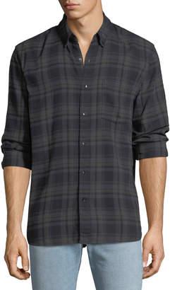 Joe's Jeans Men's Picciano Plaid Button-Down Shirt