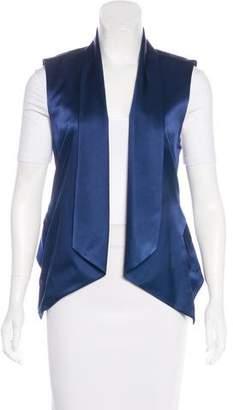 Haute Hippie Silk Open Front Vest w/ Tags