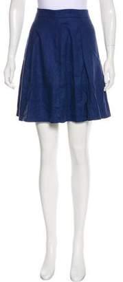 Level 99 A-line Mini Skirt